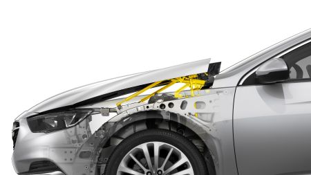 Opel Insignia Active-Hood Pedestrian Safety System