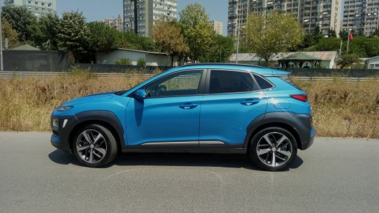 Hyundai Kona 1.6 CRDi Elite Smart DCT.
