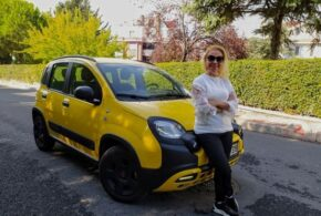 Fiat Panda 1.2 Cross City Testi